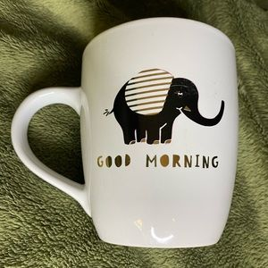 Clay Art Elephant large coffee mug